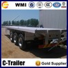 3 axle/tri axle 40ft/20ft 3 axles 40 ft container dolly trailer