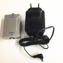 Coaxial (RCA) to Optical Toslink Digital Audio Converter