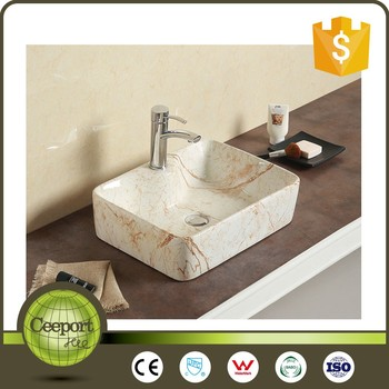 Sanitary Ware Products Italy Hand Painted Porcelain Sink Ceramic Art Basin