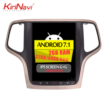 "KiriNavi Verticale Tesla Stijl android 7.1 10.4 ""car multimedia radio voor <span class=keywords><strong>jeep</strong></span> <span class=keywords><strong>grand</strong></span> <span class=keywords><strong>cherokee</strong></span> 2014 + navigatiesysteem wifi 4g"