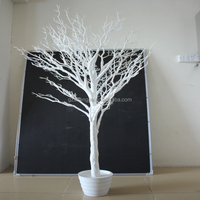 wedding decoration artificial dry tree artificial white tree for wedding centerpiece decoration white tree branch