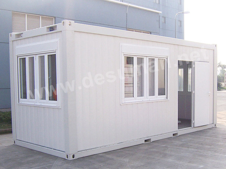 Insulated foldable prefabricated homes 40 ft container for Insulated office