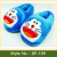 SP-134 Warm Thermal Plush Slippers Winter House Slippers Women Men Unisex Plush Slippers