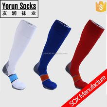 New design Polyester Football Socks / Custom logo soccer socks