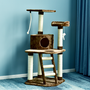 High demand products Fashion Designer cheap handmade wooden cat tree tower natural paradise