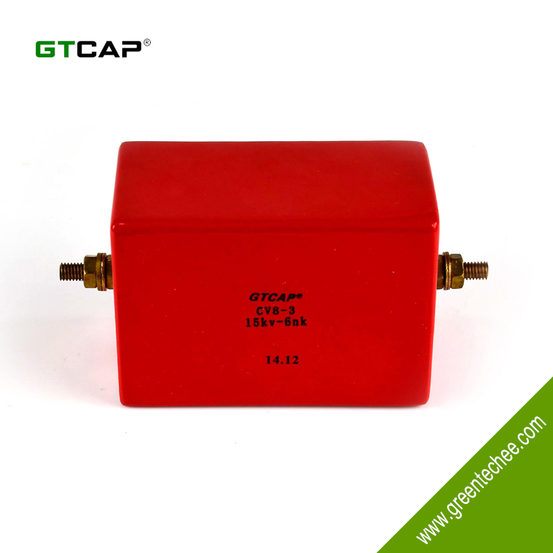 GTCAP CV8-3 5KV high voltage silver mica paper capacitor
