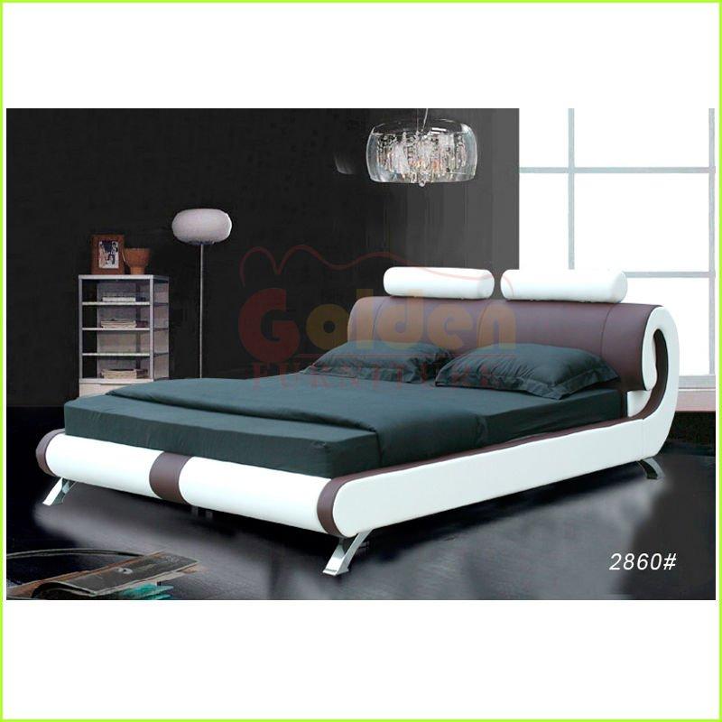 Francés moderno muebles de dormitorio de cama king size realCamas