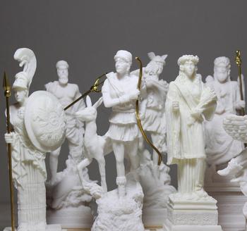 Greece Goddess Greek Gods Roman Figurine Zeus Ares Aphrodite Athena Alabaster Statue Hestia Demeter Hephaestus Poseidon Artemis Buy Greece