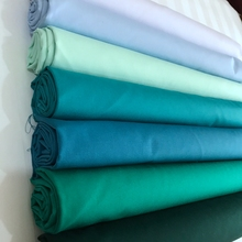 Wholesale plain white polished cotton fabric in roll