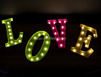 2016 New 3d Love Led Letter Sign - Buy Led Channel Letter Signs ...