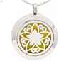 New flower of life perfume locket,essential oils diffuser necklace,aromatherapy pendant