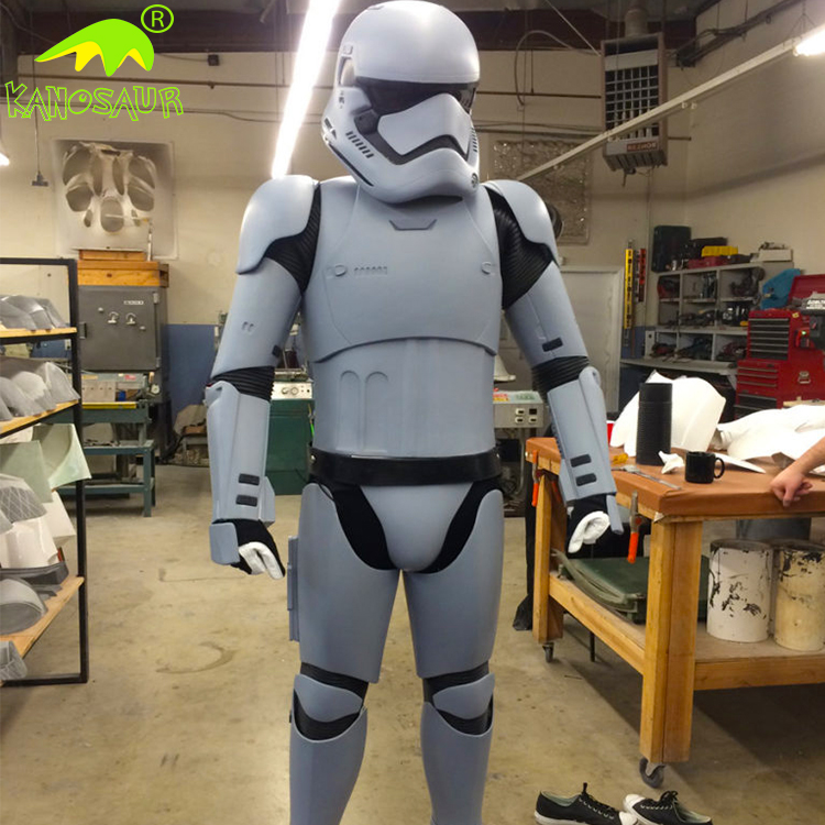 KANOSAUR0720 High quality light Stormtrooper costume