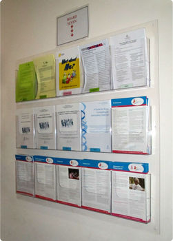 Wholesale Acrylic Wall Mount Brochure Holder Buy Wall