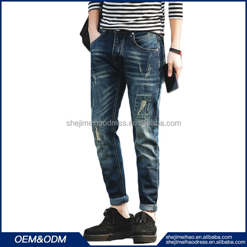 Funky men jeans suppliers and manufacturers pachwork material discount skinny thin