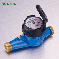 YOUNIO brass body mulitjet domestic magnetic drive water meter flow meters