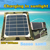 efficiency solar panel / Folding solar charging bag / can charge mobile phone during trip