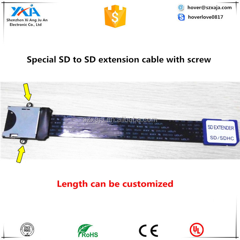 Practical New Patent SDHC Card Extension Cable
