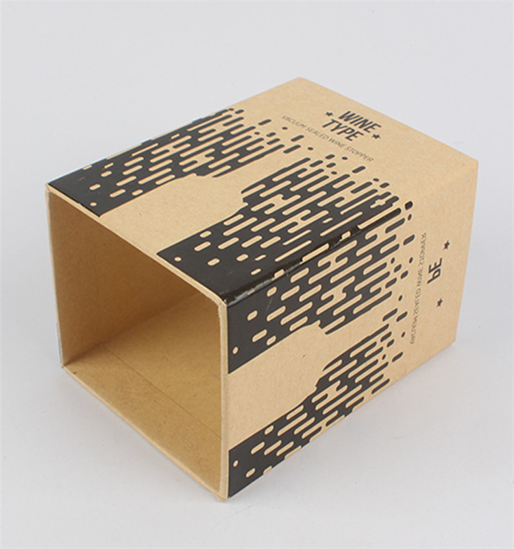 Custom Match Packaging Kraft Paper Drawer Box