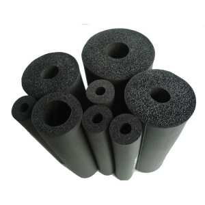 NBR/PVC rubber black foam tube