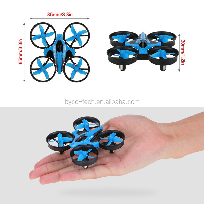 2017 New Toy One Key Return 24G RC Small Micro Mini Drones With Altitude Hold