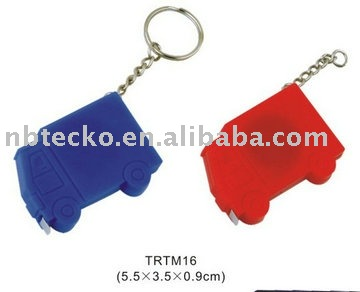 Mini truck shape tape measure with keyring