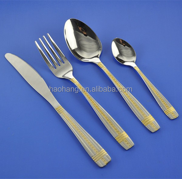 fork and knife set new dinning table set