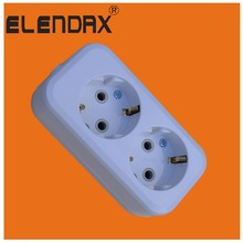 European style extension power strip schuko socket