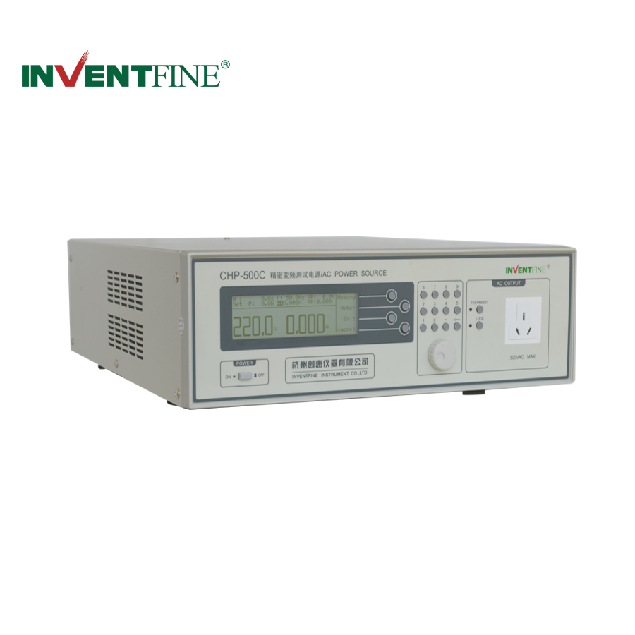 CHP-500C Variable Frequency AC Power Source Allowed Maximum Output Current 4.2A/2.1A
