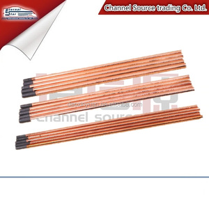 carbon copper coated welding electrode