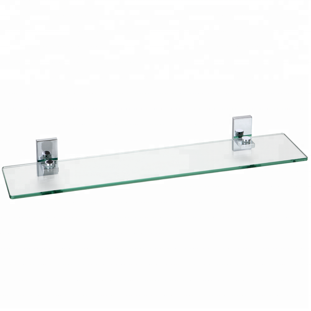Zinc Chrome Clear Gl Shelf