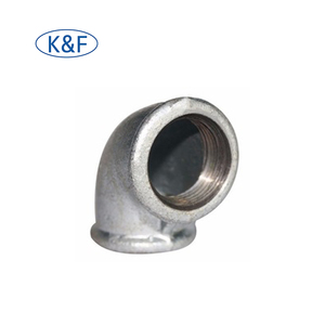 high pressure tube galvanized pipe fitting female elbow asme b16.9 sch80 din sanitary elbow