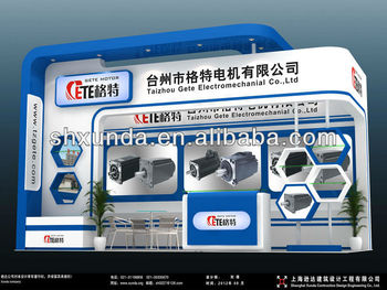Open Exhibition Stand : Exhibition stand design mtr sides open proarch d