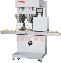 Bread cutting and stuffing machine for bakery bread slicer