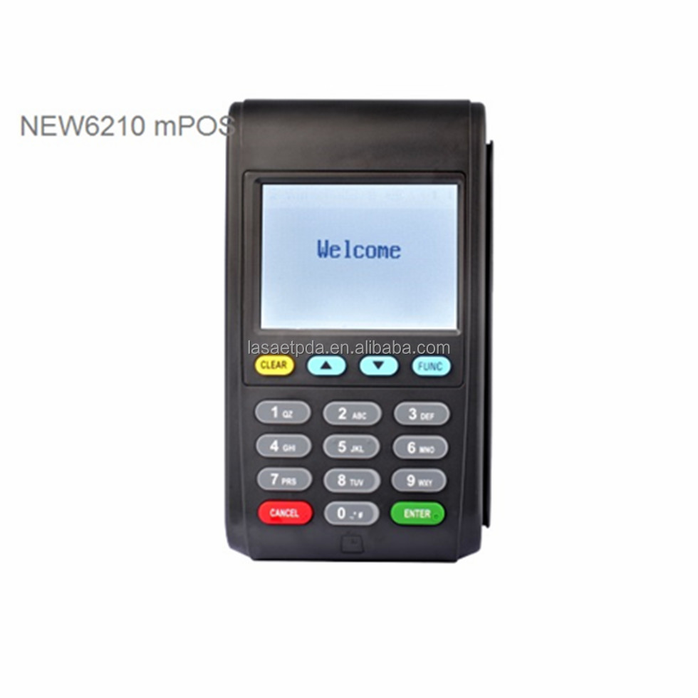 2.8 Inch Touch Screen CE,RoHS Certificated Wireless MPOS Terminal Mobile POS Payment POS Machine