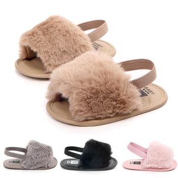 212adb6dae4b1 Wholesale China Newborn Baby Girl Fluffy Slippers Soft Baby Fur Slippers -  Buy Baby Fur Slippers,Baby Slippers,Baby Girl Slippers Product on ...