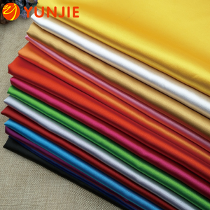 100% polyester Fashionable high quality full matt dull satin fabric