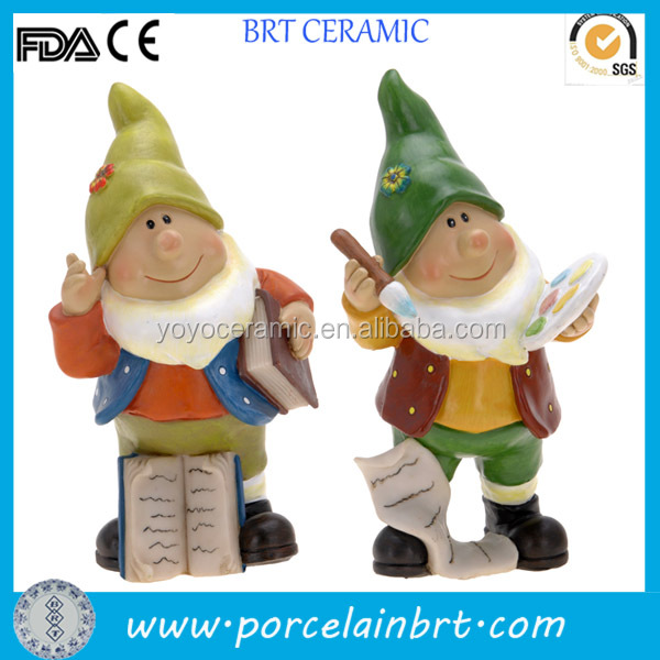 Resin gnome outdoor ornaments garden decor