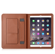 PU Leather flip cover case for apple ipad 2 3 4 luxury tablet case with auto sleep and stand function