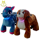 Hansel zebra horse animal toys and the name for stuffed animals with mechanical animals sccoter