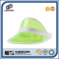 colorful plastic bulk sale sun visor cap wholesale UV protection