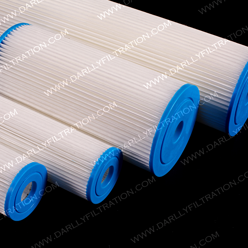 High Dirt Holding PP Pleated Filter for Swimming pool and Water Treatment
