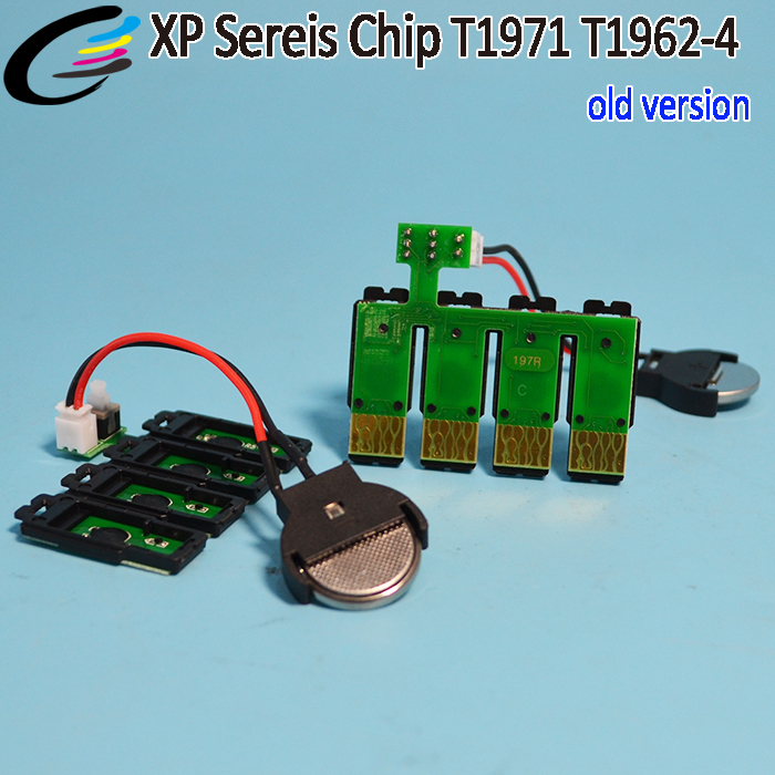 T1971 T1962-4 Combo ARC Chips for Epson XP Series 401 201 101 Printer