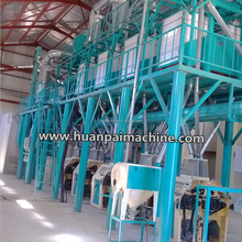 30-50TPD flour milling machine / milling wheat / corn meal mill