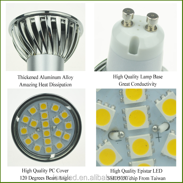35 Watt Halogen Led Replacement 320lm 220v Dimmable 2700k 120 ...