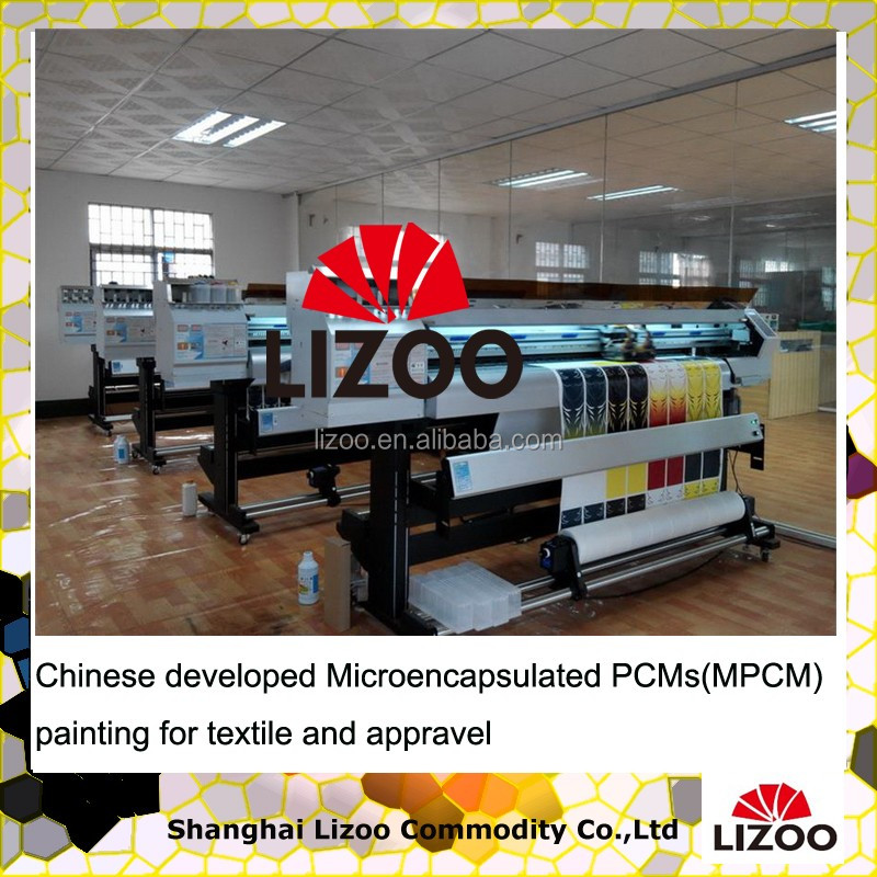 PCM painting microencapsulated MEPCM for Textile Accessories