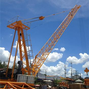 portable building top derrick tower crane hydraulic jib crane buy