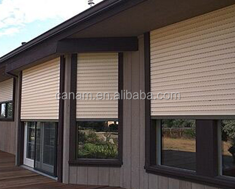 Hot sale professional roller shutter exterior window for home