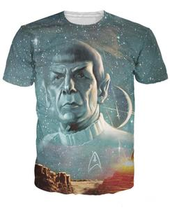 Live Long And Prosper Printed 3d T-Shirt