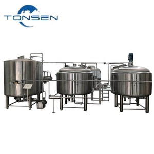 2019 New design home brewing equipment brewhouse Craft Beer Brewery System Supply