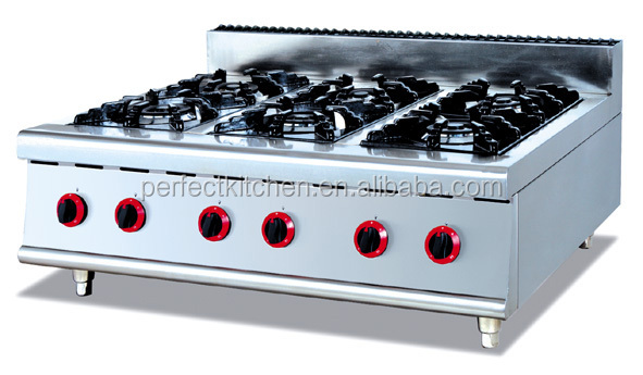 Great Table Top Gas Ranges With 4 Burners/Stainless Steel Gas Burners/Gas Stoves
